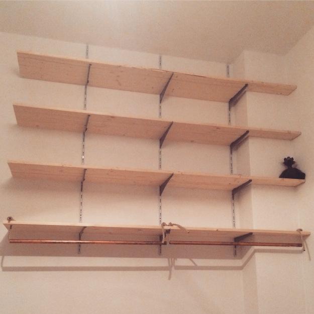 schlafzimmer makeover teil 1 das kleiderschrank projekt theoundzausel. Black Bedroom Furniture Sets. Home Design Ideas